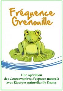 Fréquence Grenouille : une opération nationale proposée chaque année entre le 1er mars et le 31 mai pour sensibiliser les citoyens à la préservation des zones humides.