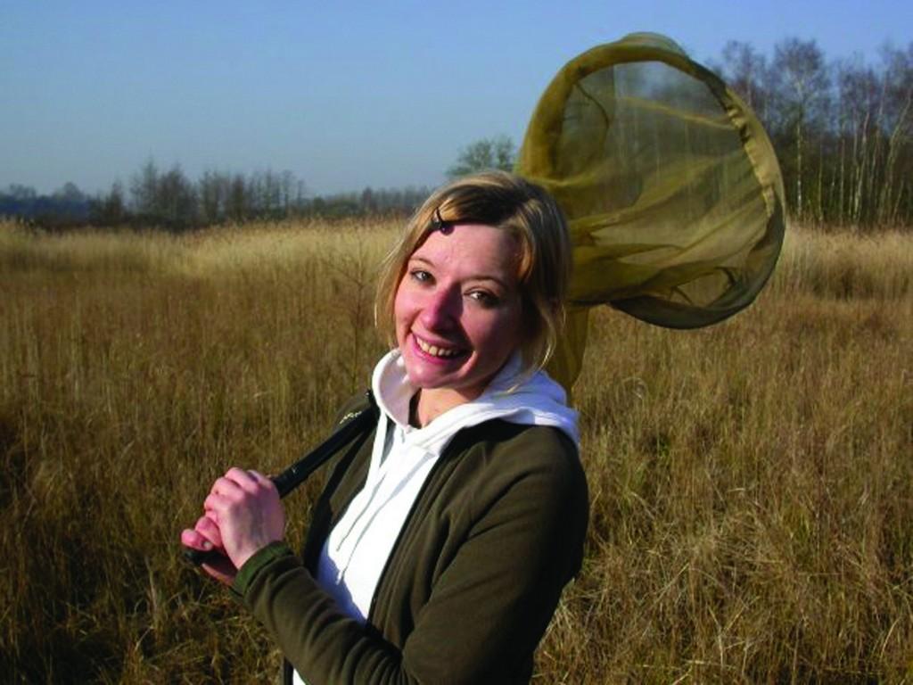 Alexandra, chargée d'études au Conservatoire d'espaces naturels du Nord et du Pas-de-Calais