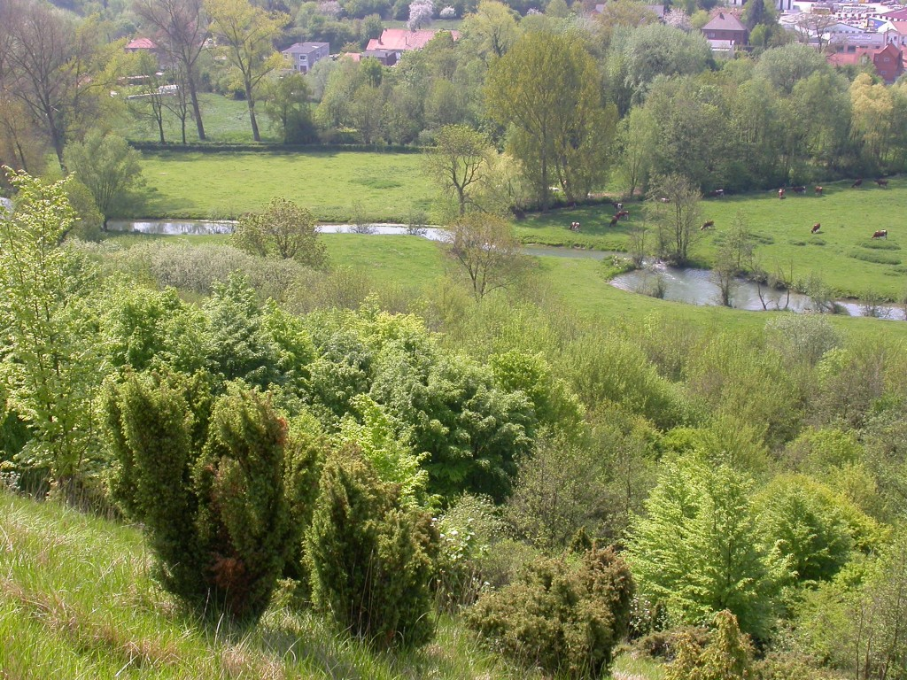 Vue depuis les coteaux de Wavrans-sur-l'Aa (Photo : B. Gallet)