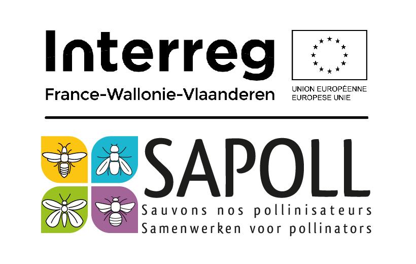 """Projet SAPOLL """"Sauvons nos pollinisateurs"""" (avec le soutien du Fonds Européen de Développement Régional - Interreg)"""