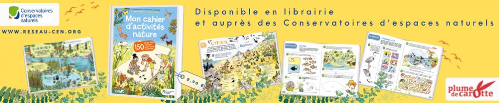 """""""Mon cahier d'activités nature"""" : 150 jeux à découvrir cet été en famille !"""